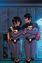 Image: Wonder Twins #1 (DFE signed - Russell Elite Gold) - Dynamic Forces