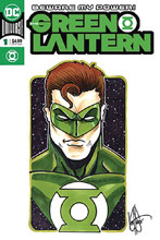 Image: Green Lantern #1 (DFE variant cover - Haeser Green sketch remarked) - Dynamic Forces