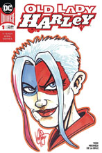 Image: Old Lady Harley #1 (DFE signed - Haeser remarked) - Dynamic Forces