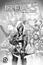 Image: Grant Morrison's 18 Days: Karna Legend 6th Son #1 (variant cover A - Pencil Sketch) - Graphic India Pte. Ltd