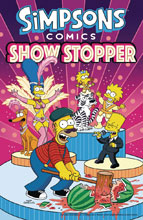 Image: Simpsons Comics: Showstopper SC  - Harper Design
