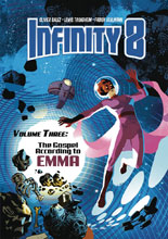 Image: Infinity 8 Vol. 03: Gospel According to Emma HC  - Lion Forge