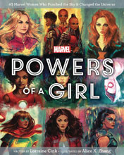 Image: Marvel: Powers of a Girl HC  - Marvel Press