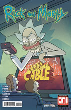 Image: Rick and Morty #47 (cover A - Marc Ellerby, Sarah Stern) - Oni Press Inc.
