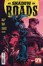 Image: Shadow Roads #6 (cover B - Zamudio) - Oni Press Inc.