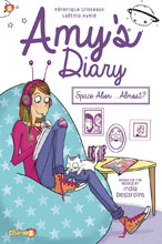 Image: Amy's Diary Vol. 01: Space Alien Almost HC  - Papercutz