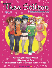 Image: Thea Stilton 3-in-1 Vol. 02 GN  - Papercutz