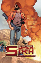 Image: Super Sikh Vol. 01 GN  - Rosarium Publishing