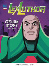 Image: DC Super Villains Origins: Lex Luthor SC  - Stone Arch Books