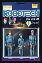 Image: Robotech #17 (cover B - Action Figure) - Titan Comics