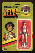 Image: Tank Girl: Action Alley #3 (cover B - Action Figure) - Titan Comics