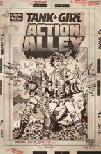 Image: Tank Girl: Action Alley #3 (cover C - Artist ed.) - Titan Comics