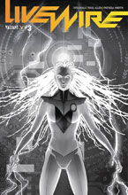 Image: Livewire #3 (incentive cover - Pollina B&W) (20-copy) - Valiant Entertainment LLC