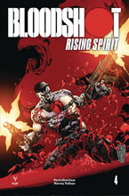 Image: Bloodshot: Rising Spirit #4 (incentive cover - Battle) (20-copy) - Valiant Entertainment LLC
