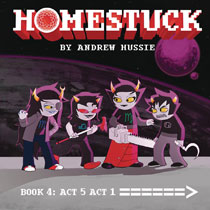 Image: Homestuck Vol. 04: Act 5 Act 1 HC  - Viz Media LLC