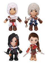 Image: Ubisoft Assassin's Creed 6-Piece Plush Display  - Just Play (Hk) Ltd.
