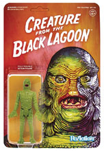 Image: Universal Monsters Reaction Action Figure: Creature From the Black Lagoon  - Super 7