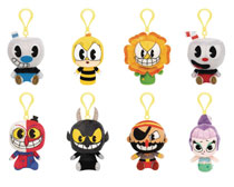 Image: Pocket Pop! Cuphead Figure Keychain 18-Piece Blind Mystery Box Display  - Funko