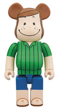 Image: Peanuts Bearbrick: Peppermint Patty 400  - Medicom Toy Corporation