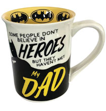 Image: DC Ceramic Mug: Batman  (My Dad) - Enesco Corporation