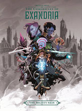 Image: Critical Role Vol. 01: Chronicles of Exandria Mighty Nein HC  - Dark Horse Comics