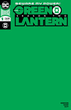 Image: Green Lantern Season Two #1 (variant cover - Blank)  [2020] - DC Comics
