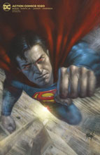 Image: Action Comics #1020 (variant card stock cover - Lucio Parillo) - DC Comics