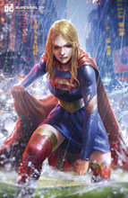 Image: Supergirl #39 (variant card stock cover - Derrick Chew) - DC Comics