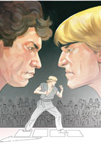 Image: Cobra Kai: Karate Kid Saga Continues #1 (Director's Cut) - IDW Publishing