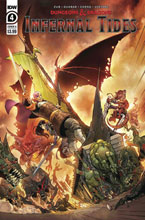 Image: Dungeons & Dragons: Infernal Tides #4 (cover A - Dunbar) - IDW Publishing