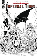 Image: Dungeons & Dragons: Infernal Tides #4 (incentive 1:10 cover - Dunbar)  [2020] - IDW Publishing