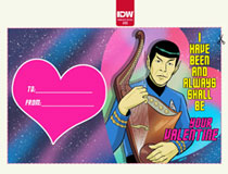 Image: Star Trek: Year Five: Valentine's Day Special  (incentive 1:10 cover - Charm)  [2020] - IDW Publishing