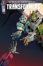 Image: Transformers #18 (cover A - Miyao) - IDW Publishing
