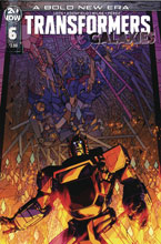 Image: Transformers: Galaxies #6 (cover A - Milne) - IDW Publishing