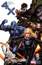Image: X-Men / Fantastic Four #1 (variant cover - Brooks) - Marvel Comics