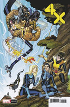 Image: X-Men / Fantastic Four #1 (incentive 1:50 cover - Garron) - Marvel Comics