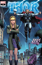 Image: Thor #3 (variant Gwen Stacy cover - Keown) - Marvel Comics