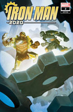 Image: Iron Man 2020 #2 (incentive 1:25 cover - Del Mundo)  [2020] - Marvel Comics