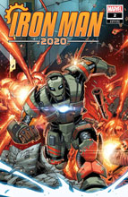 Image: Iron Man 2020 #2 (variant cover - Ron Lim) - Marvel Comics