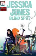Image: Jessica Jones: Blind Spot #3 (variant cover - Simmonds) - Marvel Comics