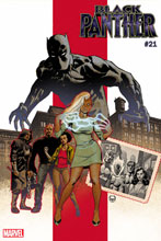 Image: Black Panther #21 (variant cover - Johnson) - Marvel Comics