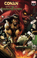 Image: Conan: Battle for the Serpent Crown #1 (variant cover - Luke Ross) - Marvel Comics