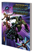 Image: Black Panther and the Agents of Wakanda Vol. 01 SC  - Marvel Comics