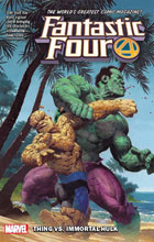 Image: Fantastic Four Vol. 04: Thing vs. Immortal Hulk SC  - Marvel Comics