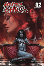 Image: Red Sonja: Age of Chaos #2 (cover A - Parrillo) - Dynamite