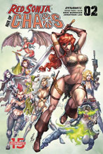 Image: Red Sonja: Age of Chaos #2 (cover B - Quah) - Dynamite