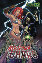 Image: Red Sonja: Age of Chaos #2 (cover D - Garza) - Dynamite