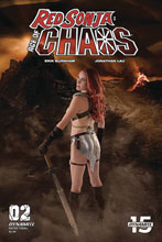Image: Red Sonja: Age of Chaos #2 (cover E - Cosplay) - Dynamite