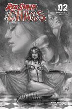 Image: Red Sonja: Age of Chaos #2 (incentive 1:40 cover - Parrillo B&W)  [2020] - Dynamite