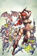 Image: Red Sonja: Age of Chaos #2 (variant cover - Quah virgin) - Dynamite